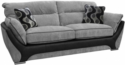 Buoyant Enzo 3 Seater Fabric Sofa