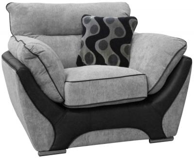 Buoyant Enzo Fabric Armchair