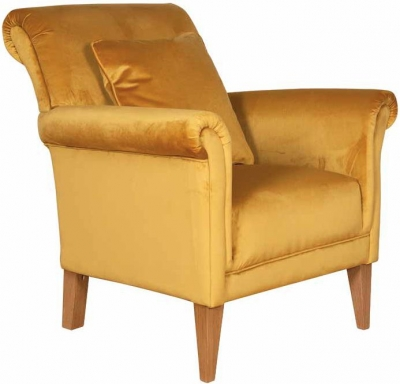 Buoyant York Fabric Accent Chair