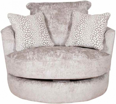 Buoyant Luman Fabric Swivel Chair