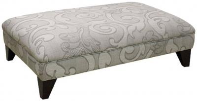 Buoyant Eton Fabric Footstool