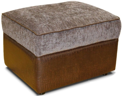 Buoyant Fabric Storage Footstool