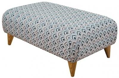 Buoyant Large Fabric Style Footstool