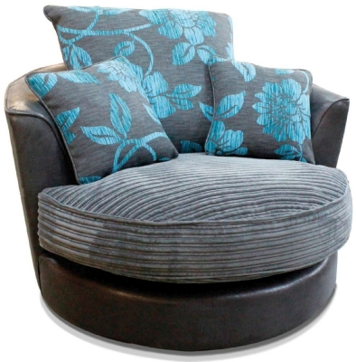 Buoyant Monique Fabric Swivel Chair