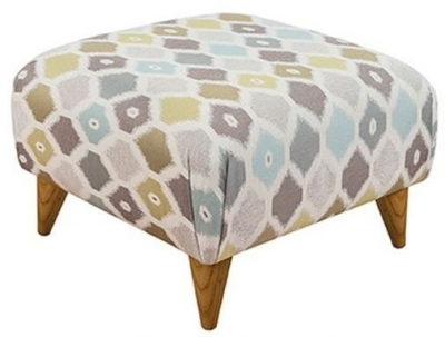 Buoyant Small Fabric Style Footstool