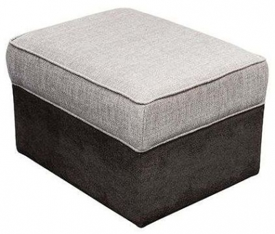 Buoyant Storage Fabric Footstool