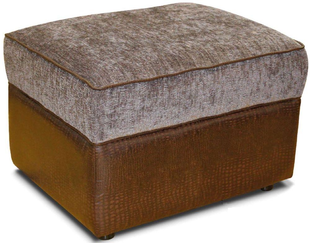 Buoyant Fabric Storage Footstool