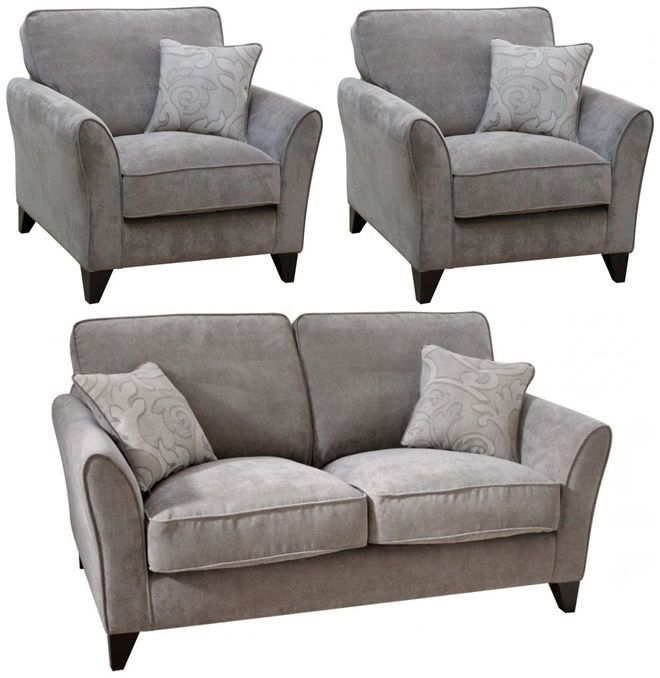 Buoyant Fairfield 2+1+1 Seater Fabric Sofa Suite