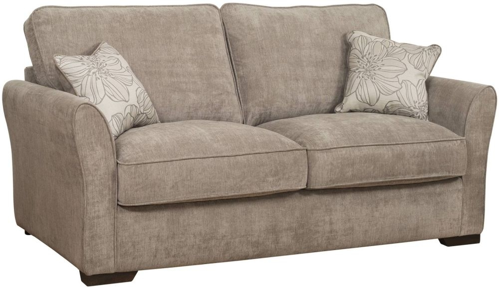 Awesome Buoyant Fairfield 2 Seater Fabric Sofa