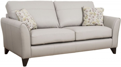 Buoyant Fairfield Performance 3 Seater Leather Sofa