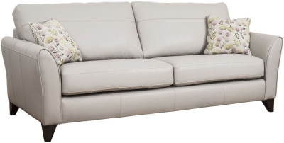 Buoyant Fairfield Performance 4 Seater Leather Sofa