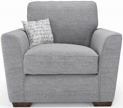 Buoyant Fantasia Fabric Armchair