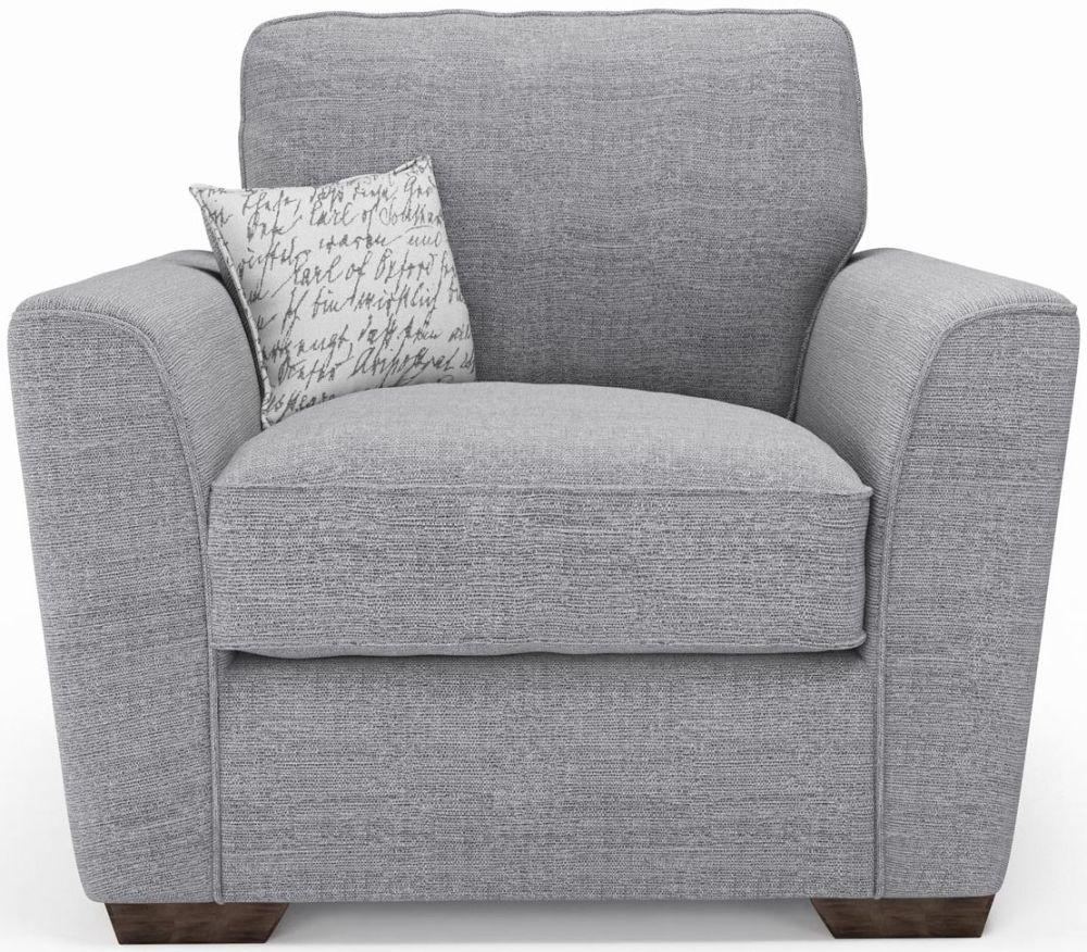 Delightful Buoyant Fantasia Fabric Armchair