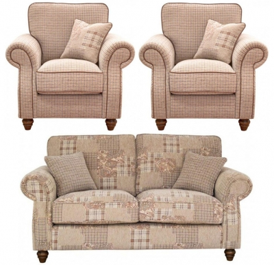 Buoyant Finley 3+1+1 Seater Fabric Sofa Suite