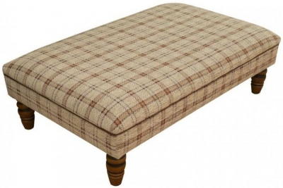 Buoyant Finley Fabric Footstool