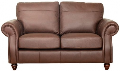 Buoyant Finley 3 Seater Leather Sofa