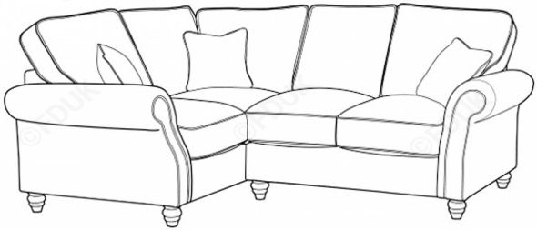 Buoyant Finley Performance Leather Corner sofa