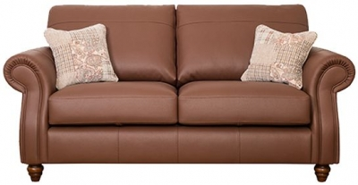 Buoyant Finley Performance 3 Seater Leather Sofa