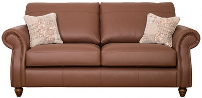 Buoyant Finley Performance 4 Seater Leather Sofa