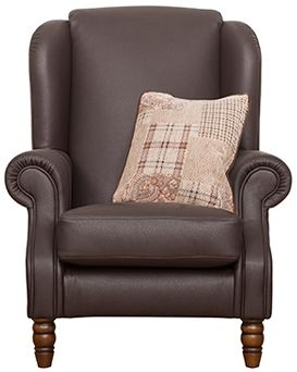 Buoyant Finley Performance Leather Wing Chair