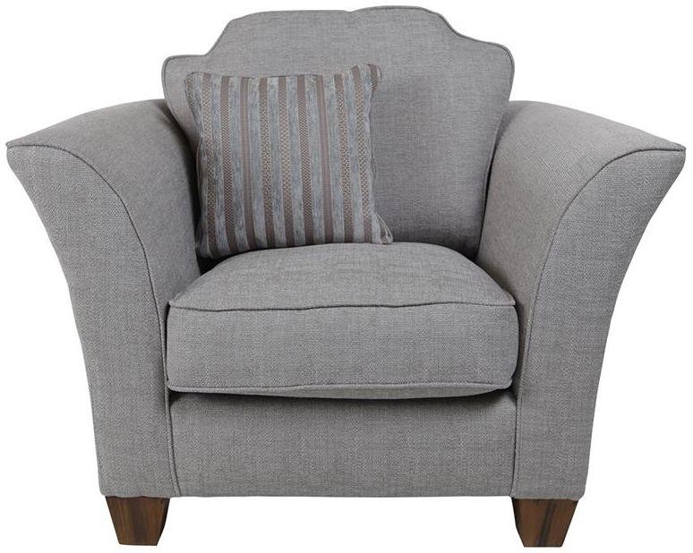 Buoyant Harvard Fabric Armchair