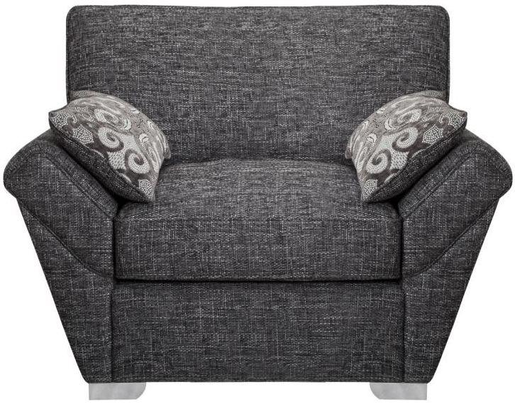 Buoyant Horizon Fabric Armchair