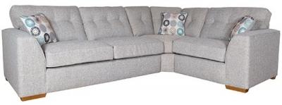Buoyant Kennedy Fabric Corner Sofa - RH1+COR+LH2