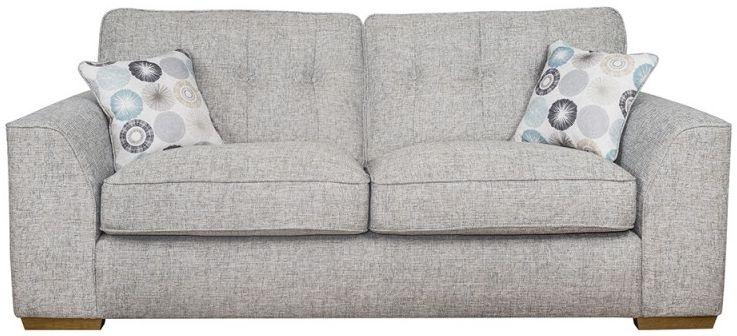 Buoyant Kennedy 3 Seater Fabric Sofa