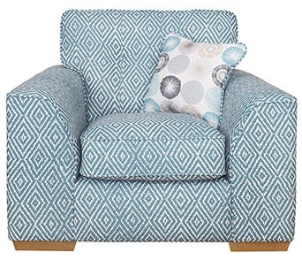 Buoyant Kennedy Fabric Armchair