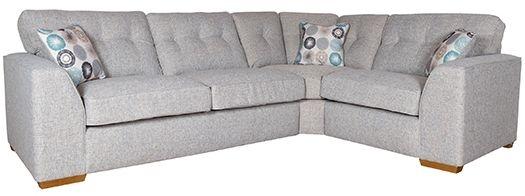 Buoyant Kennedy Fabric Corner Sofa - L2+CO+R1