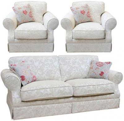 Buoyant Kensington 3+1+1 Seater Fabric Sofa Suite