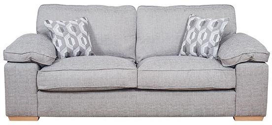 Buoyant Langden 3 Seater Fabric Sofa