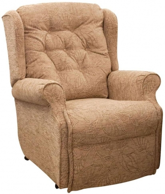 Buoyant Belvedere Lift and Tilt Fabric Recliner Chair