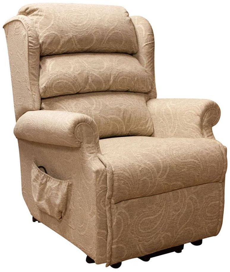 Buoyant Hampton Lift and Tilt Fabric Recliner Chair
