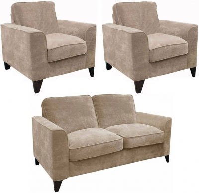 Buoyant Link 2+1+1 Seater Fabric Sofa Suite