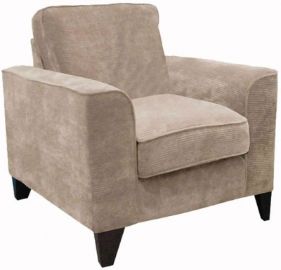 Buoyant Link Fabric Armchair
