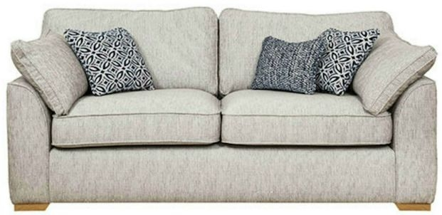 Buoyant Lorna 3 Seater Fabric Sofa