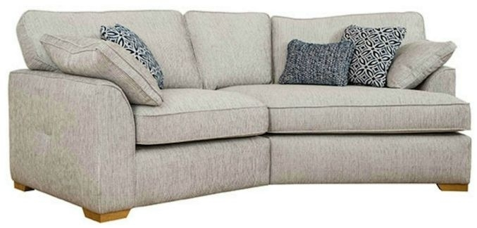 Buoyant Lorna K End Fabric Sofa - Left