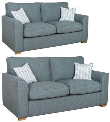 Buoyant Louis 3+2 Seater Fabric Sofa Suite