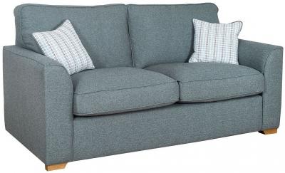 Buoyant Louis 3 Seater Standard Back Fabric Sofa