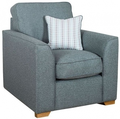 Buoyant Louis Fabric Armchair