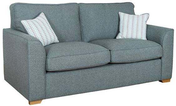 Buoyant Louis 2 Seater Standard Back Fabric Sofa