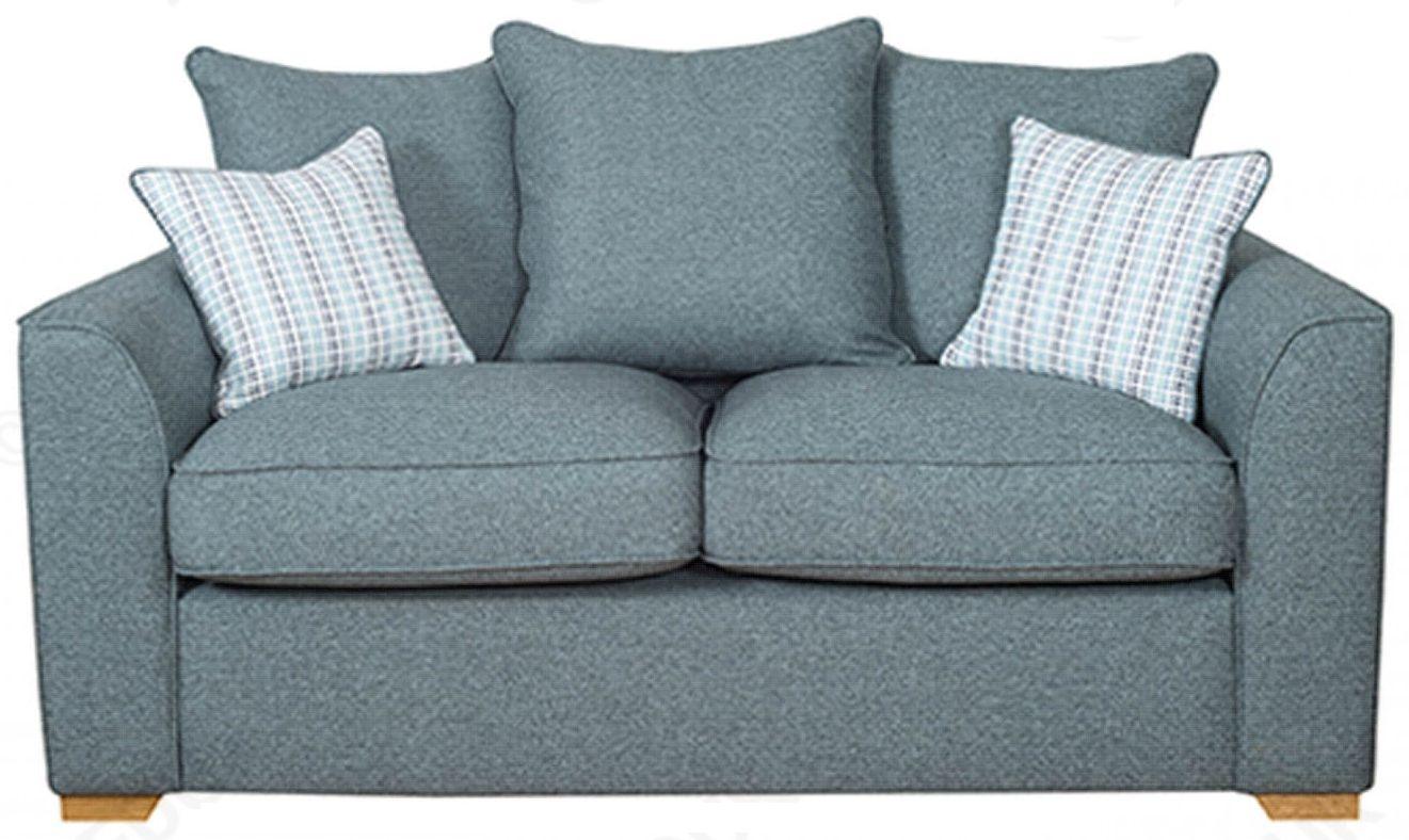 Buoyant Louis 2 Seater Pillow Back Fabric Sofa