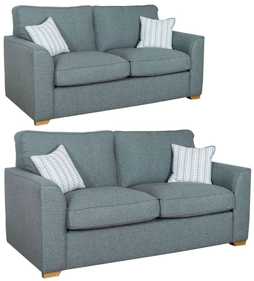 Buoyant Louis 3+2 Seater Fabric Sofa Suite