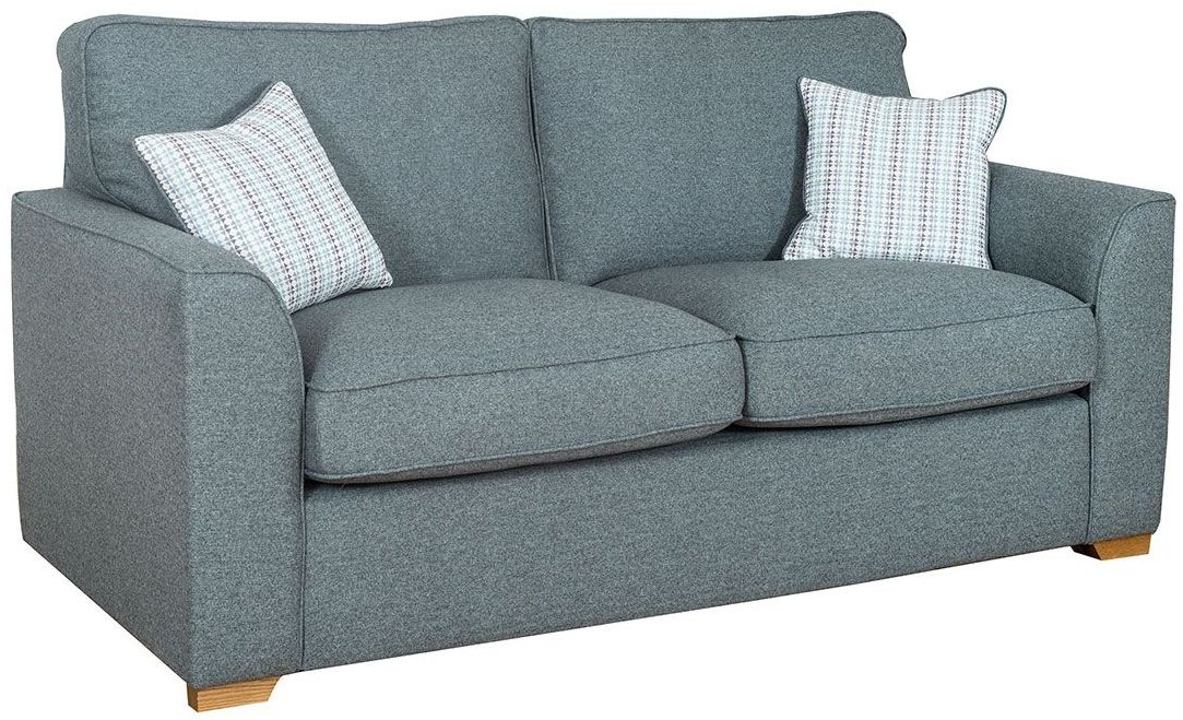 Buoyant Louis 3 Seater Fabric Sofa