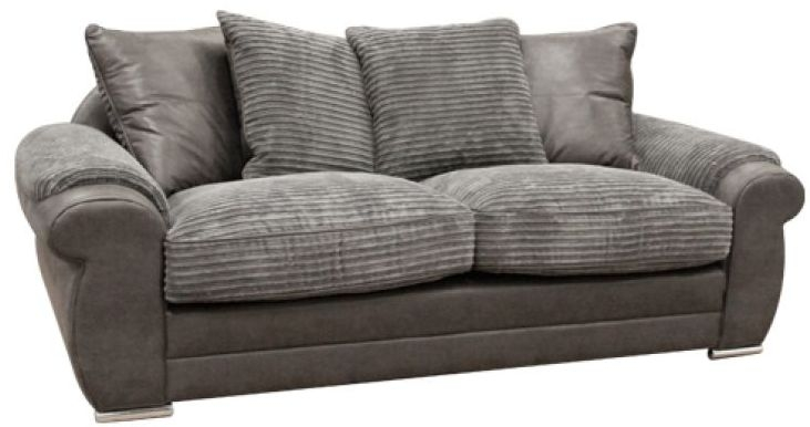 Buoyant Lux 3 Seater Fabric Sofa