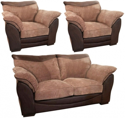 Buoyant Malta 2+1+1 Seater Fabric Sofa Suite