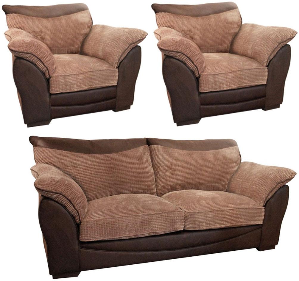 Buoyant Malta 3+1+1 Seater Fabric Sofa Suite