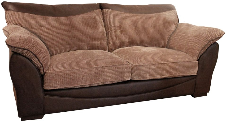 Buoyant Malta 3 Seater Fabric Sofa