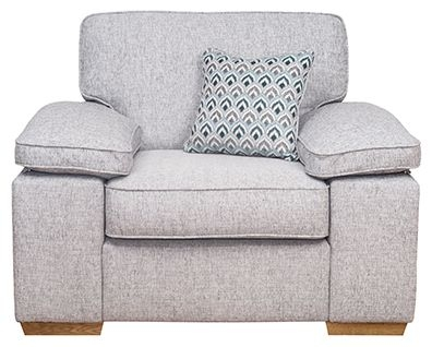 Buoyant Memphis Fabric Armchair
